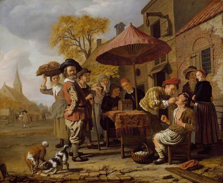 Jan Victors 1654 Le dentiste (De_tandmeester) Amsterdam museum