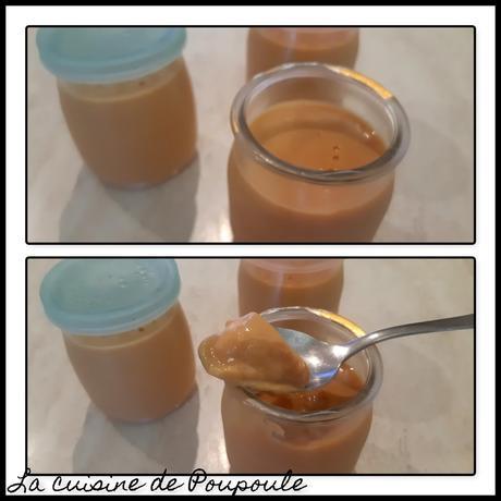 Crème dessert façon Danette au caramel