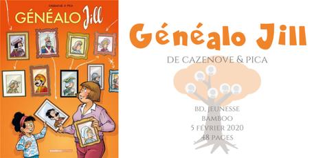 Généalo Jill • Cazenove & Pica