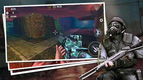 Télécharger Gratuit Zombie 3D Gun Shooter: Free Survival Shooting Game APK MOD (Astuce) screenshots 3