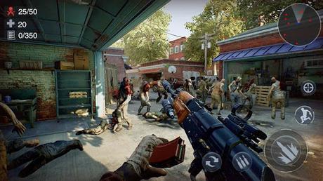 Télécharger Gratuit Zombie 3D Gun Shooter: Free Survival Shooting Game APK MOD (Astuce) screenshots 2