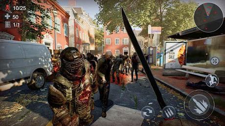 Télécharger Gratuit Zombie 3D Gun Shooter: Free Survival Shooting Game APK MOD (Astuce) screenshots 4