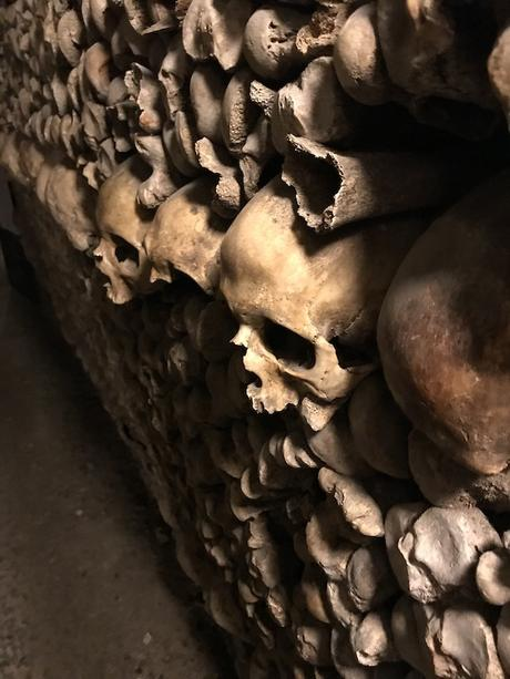 Les catacombs de Paris