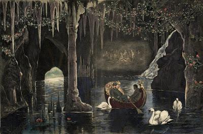 Vacances hivernales dans la montagne bavaroise. Louis II de Bavière au regard de Juliette Pary.
