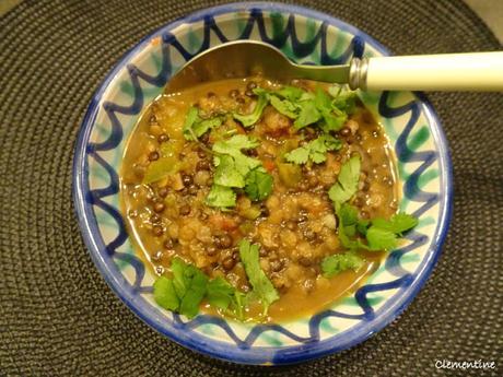 Curry de lentilles du Penjab