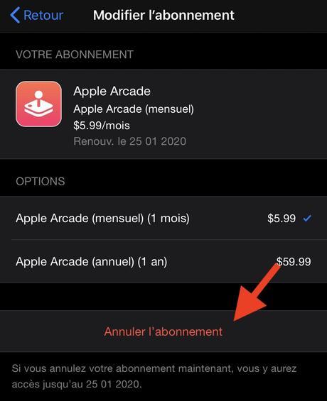 Comment annuler un abonnement sur iPhone et iPad