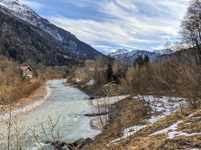 Mittenwald - Frühlingsgefühl entlang der Leutasch (bzw. Isar) - 20 Pics
