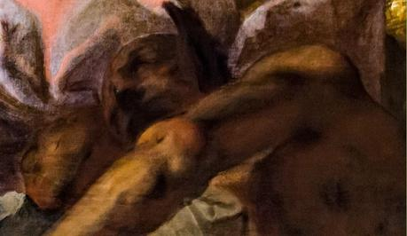 Accademia_-_Francesco_Maffei_-_Mythological_Scene detail dormeur