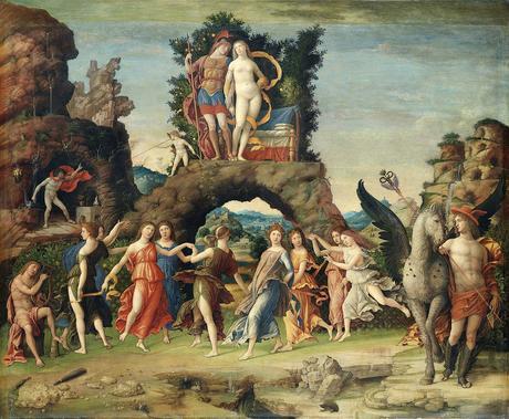 Mantegna 1497 Le Parnasse Louvre
