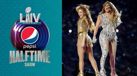 Shakira et Jennifer Lopez à la mi-temps du 54ème Super Bowl