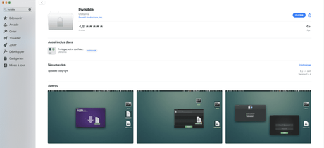 Cacher un fichier ou un dossier sur votre Mac