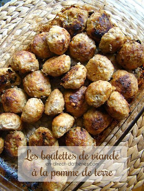 Les boulettes ont la patate