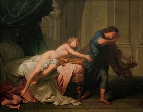 """Nattier, Jean-Bapiste ;""""Joseph et la femme de Potiphar"""""""