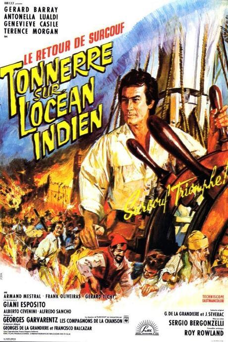 Tonnerre sur l'Océan Indien (1966) de Sergio Bergonzelli et Roy Rowland