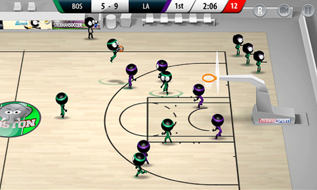 Télécharger Stickman Basketball 2017  APK MOD (Astuce) 4