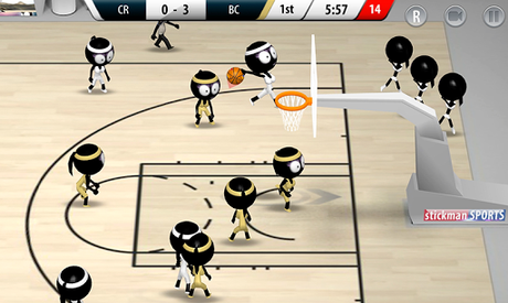 Télécharger Stickman Basketball 2017  APK MOD (Astuce) 3