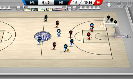 Télécharger Stickman Basketball 2017  APK MOD (Astuce) 2