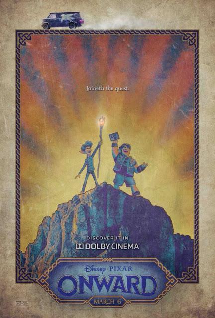 Affiches Real 3D et Dolby Cinema pour En Avant de Dan Scanlon