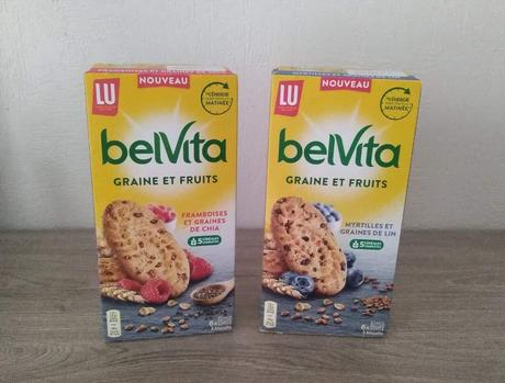 Biscuits graine et fruits BELVITA de LU