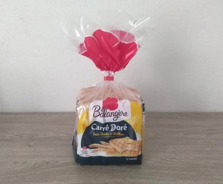 Un paquet de pain Carré Doré LA BOULANGERE