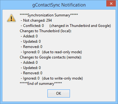 Synchroniser les contacts de Gmail vers Thunderbird