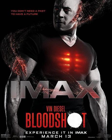 Affiche IMAX pour Bloodshot de Dave Wilson