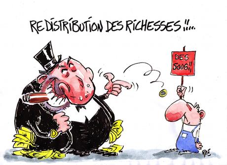 resdistribution des richesses