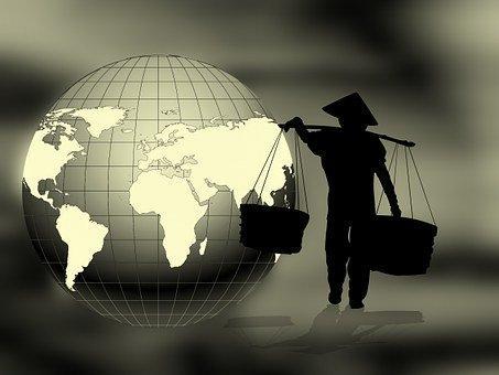 Globe, Terre, Monde, Continents