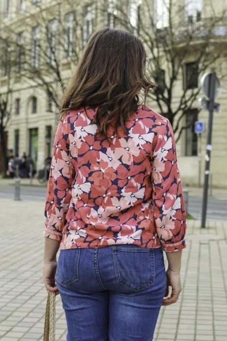 Ma blouse Mouna Sew – Box d'octobre