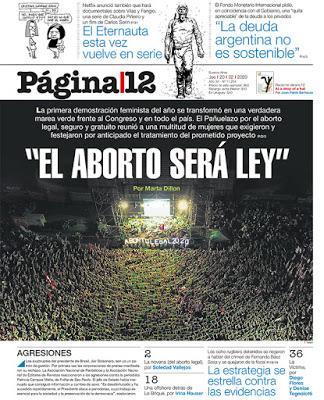 Marée verte hier en Argentine [Actu]
