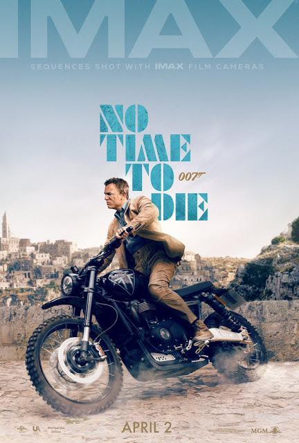 Affiche IMAX pour Mourir Peut Attendre de Cary Joji Fukunaga