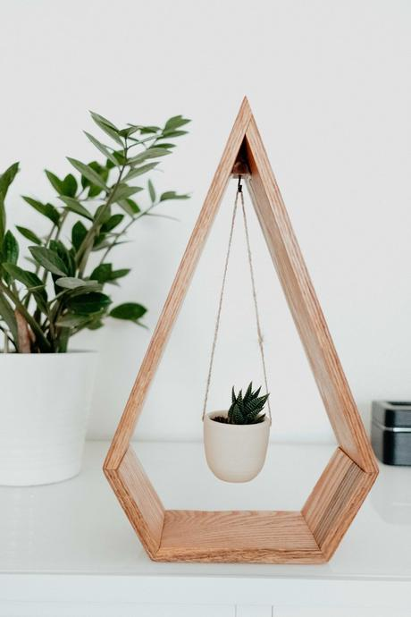 étagère suspension bois déco tendance clem around the corner