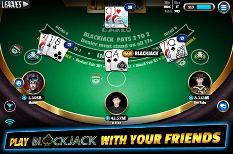Code Triche BlackJack 21 - Online Blackjack multiplayer casino  APK MOD (Astuce) 2