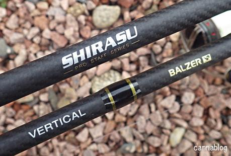 Canne Verticale Shirasu Pro Staff Series (Balzer)