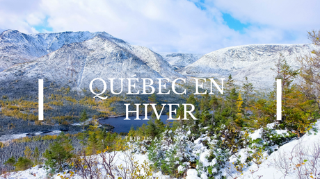 Québec hiver winter