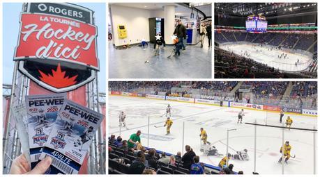voir un match de hockey Québec pee-wee