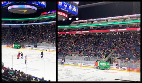 voir un match de hockey québec