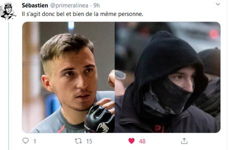 on a retrouvé l'auteur de l'agression d'une militante LGBTQ à #Nantes #LMPT #RN