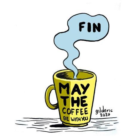 Sortie d'hibernation : café, emails et notifications