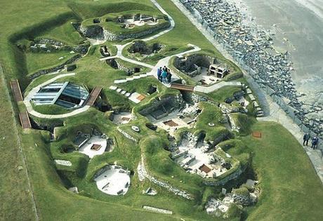 Histoire du meuble: le site néolithique de Skara Brae