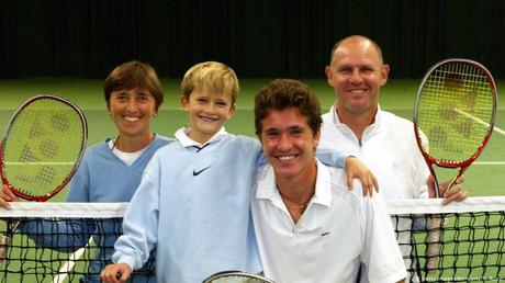 Ces anciens champions de tennis qui voient leurs fils monter au filet