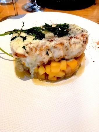Pavé de merlu, navets © Gourmets&co .j
