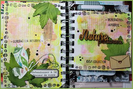 Page Junk journal #9-1