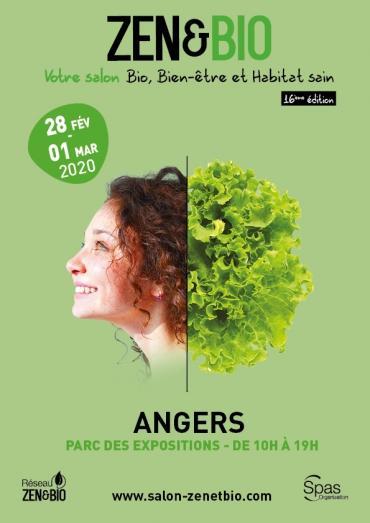 Un salon zen et bio du 28 février au 1er mars à Angers