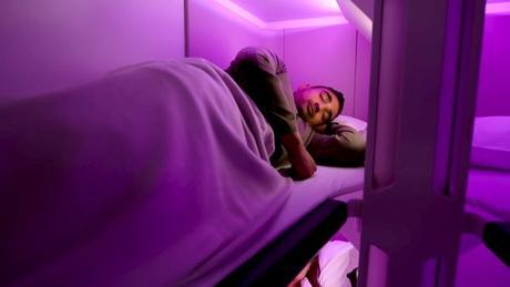 Air New Zealand prévoit des lits pour ses passagers en classe éco