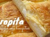 tyropita comme bougatsa crème fromage