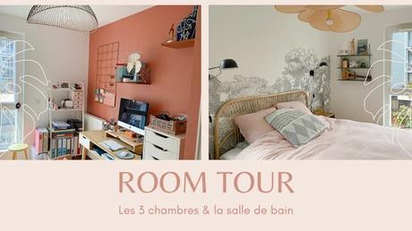ROOM TOUR   Les 3 chambres & la salle de bain
