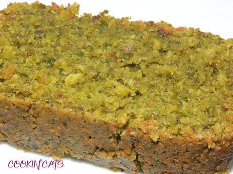 CAKE A LA PISTACHE (sans gluten, végétalien)