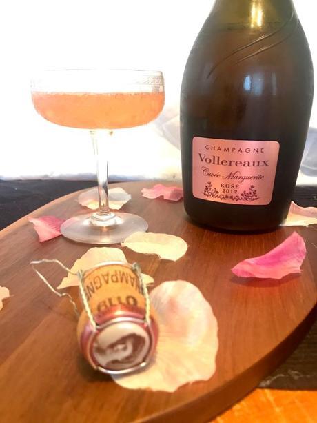 Champagne Vollereaux – Marguerite dévoile sa nouvelle robe !