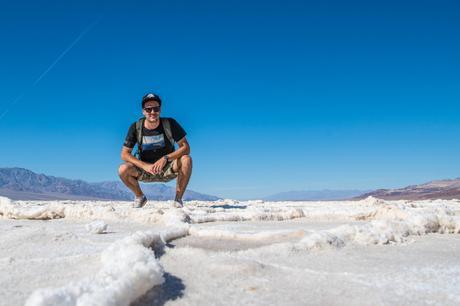 death valley desert de sel